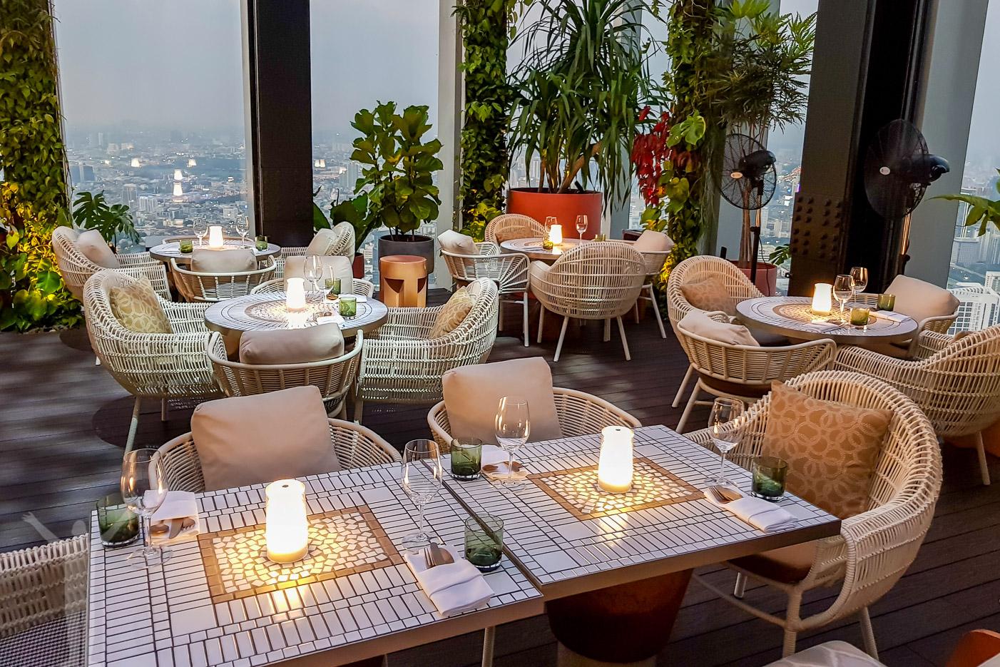 Restaurang i Bangkok