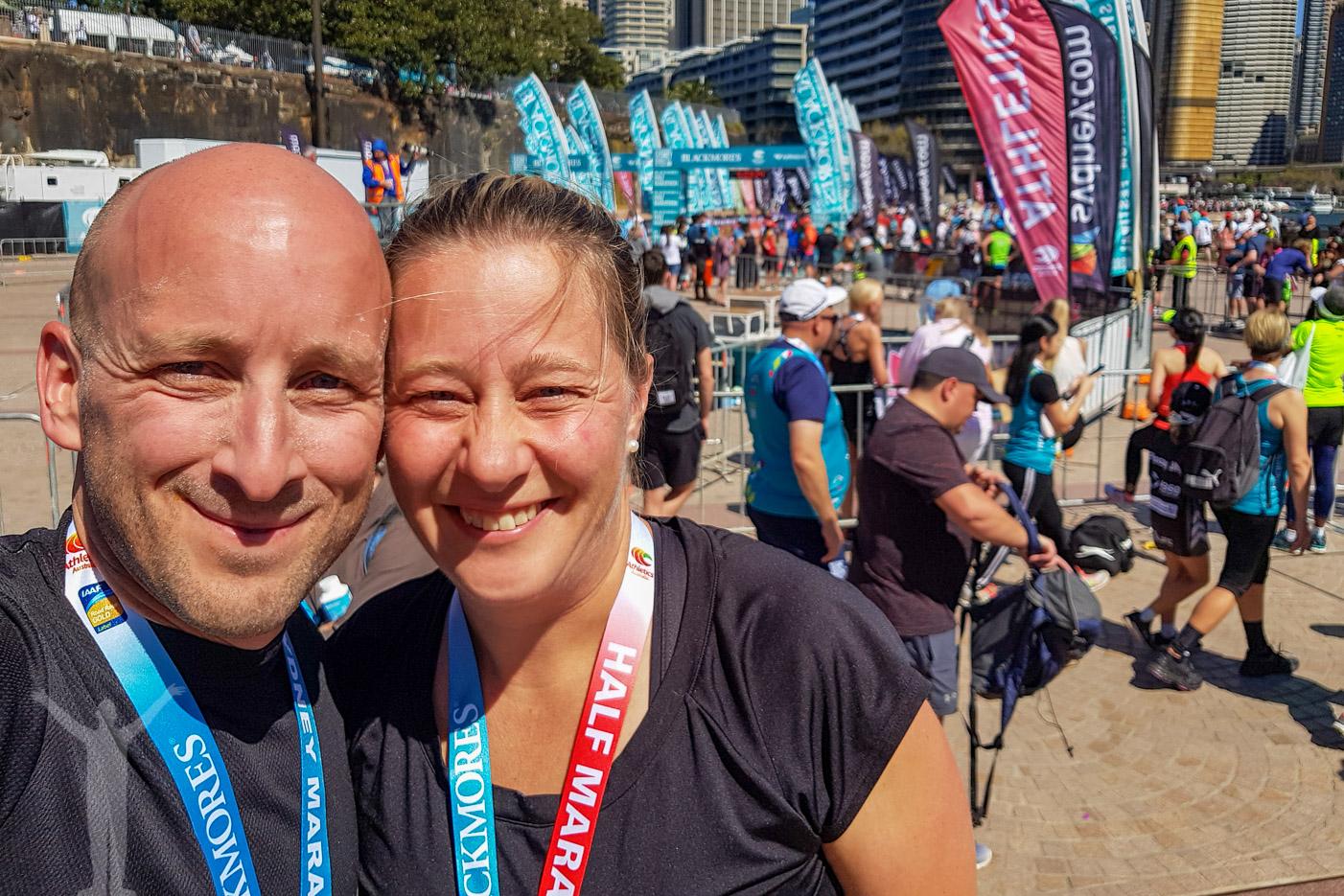 Sydney hel- och halvmaraton